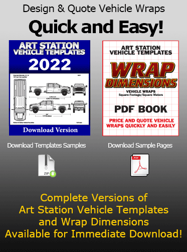 Art Station Vehicle Templates